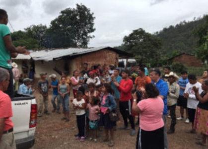 Ayuda a indígenas tolupanes de Honduras