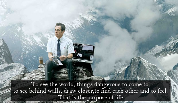 Secret Life Of Walter Mitty Quotes Wallpaper Ramble On Foreign Service Specialist Confirmation Letter