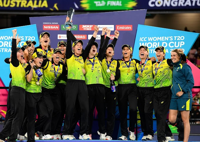 Ind W vs Aus W Final Match Scorecard Women's T20 World Cup 2020 Australia v India