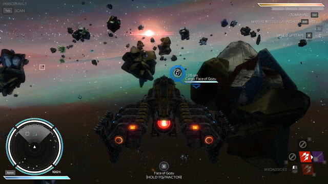 Rebel Galaxy Fortune Asteroid Belts