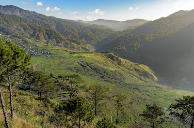 Fidelisan  Rice Terraces Sagada Mountain Province Cordillera Administrative Region Philippines