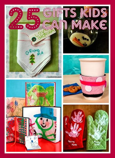 atwp: 25 Christmas Gifts Kids Can Make