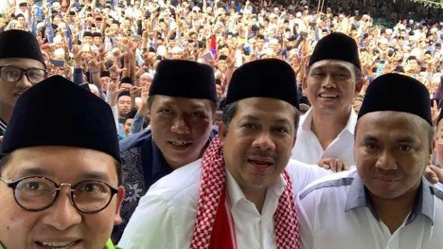 Fadli Zon Pamer Foto Ribuan Santri Madura, Simbol Pendukung Prabowo