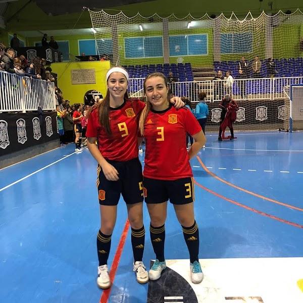 El Atlético Torcal exporta talento a la Sub-19 de España de Fútbol Sala Femenino