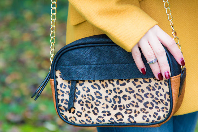 sac - promod - leopard - moutard - caban