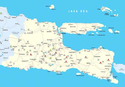 Peta Jawa Timur Ukuran Besar