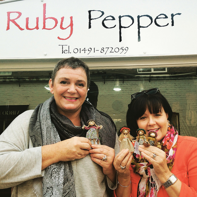 SEE THE DOLLS DISPLAYED AT RUBY PEPPER IN GORING-ON-THAMES - CLICK IMAGE