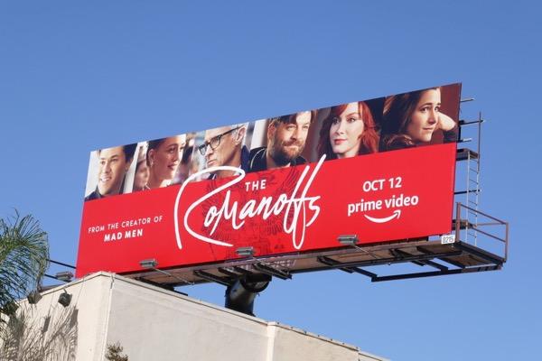 Romanoffs season 1 billboard
