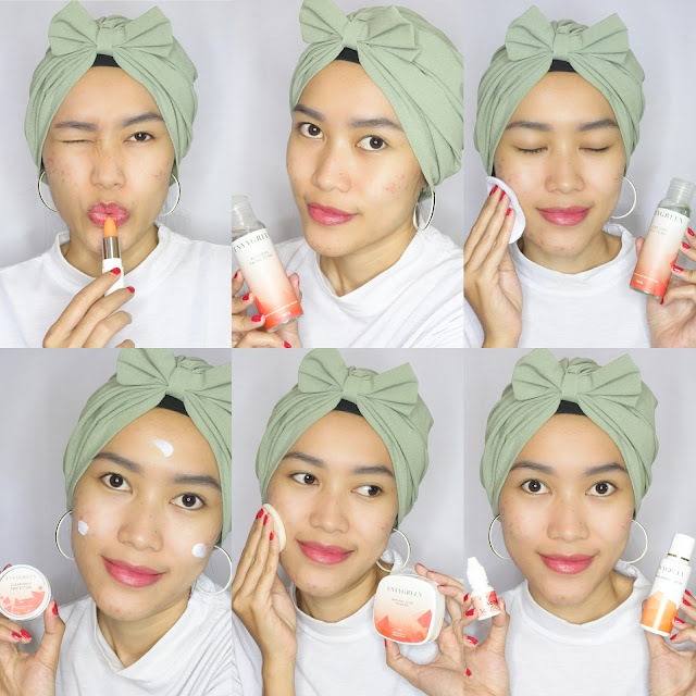 Step pakai Envygreen Acne Care Series