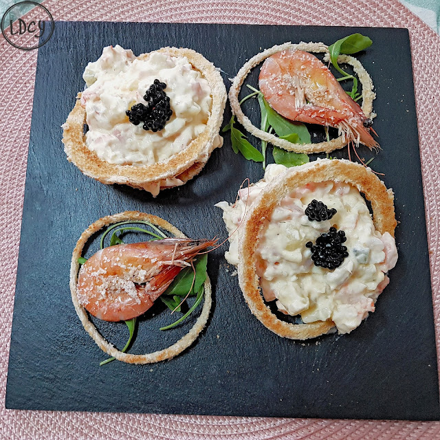 Ensaladilla De Langostinos/ Prawns Salad