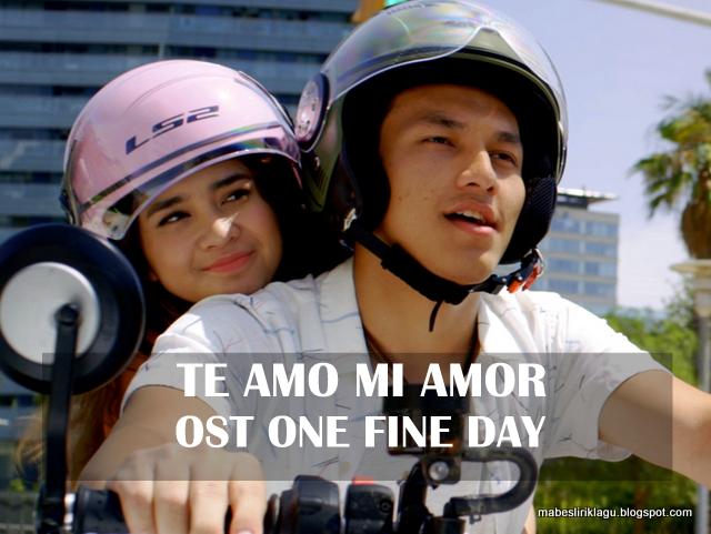 Lirik Te Amo Mi Amor artinya