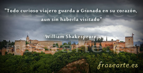 Frases de Rincones de Granada, William Shakespeare