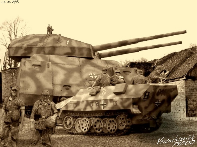 "SNAFU!: Blast From The Past. Landkreuzer P. 1000 ""Ratte"" Tank"