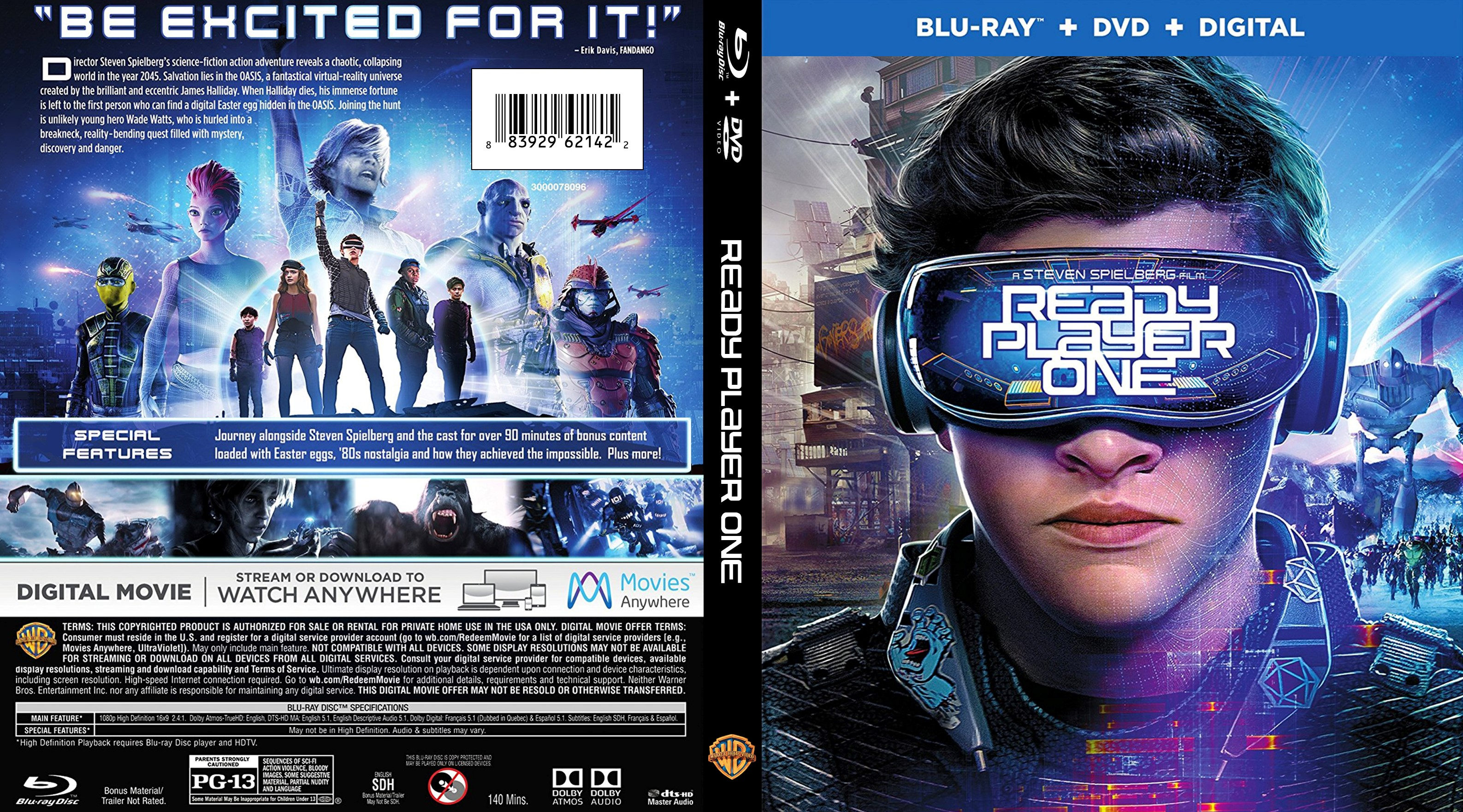 Ready Player One (2018) Hindi 480p 720p BluRay Dual Audio