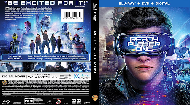Ready Player One (scan) Bluray Cover