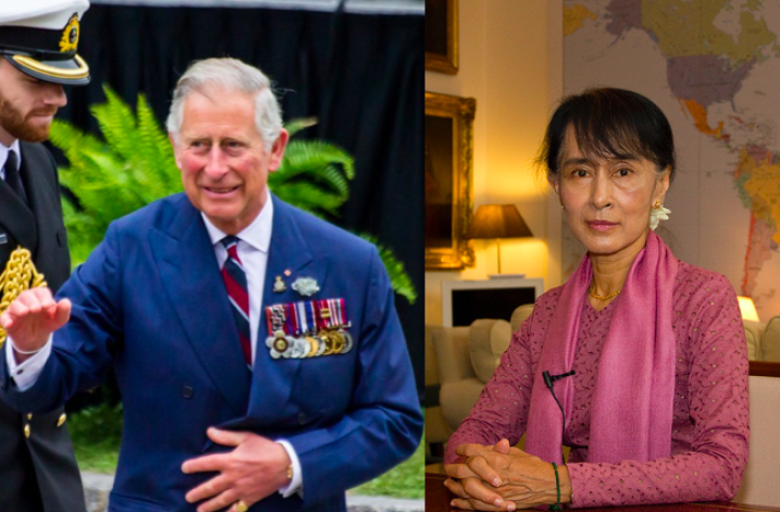 Prince Charles planning controversial trip to Myanmar to meet Aung San Suu Kyi