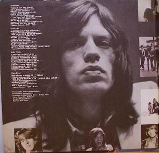 Rolling Stones Inside Jacket Cover Hot Rocks