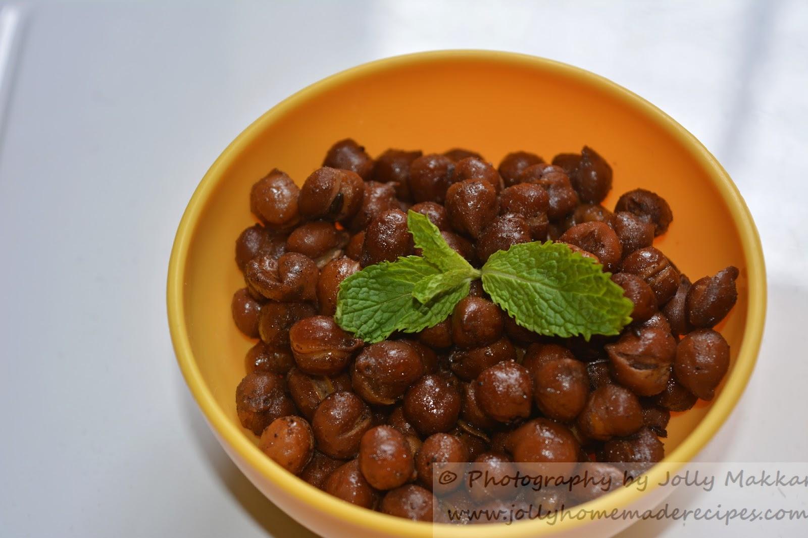 Kala Chana - Ashtami Prasad, How to make North Indian style Dry Kala Chana Recipe