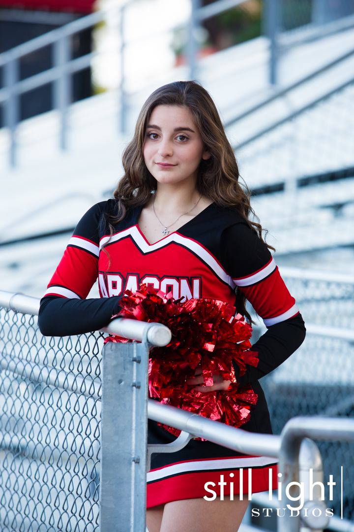 A cheerleader photography session - 5 10