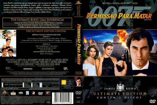 Capa DVD Permissão Para Matar
