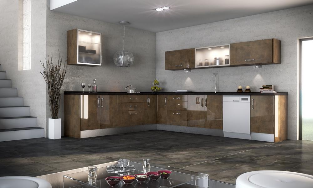 Materiales para cocinas i laminados resistentes y - Encimeras alvic ...
