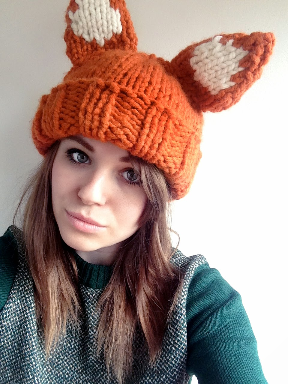 Super Chunky Foxy Hat Pattern Sincerely Louise