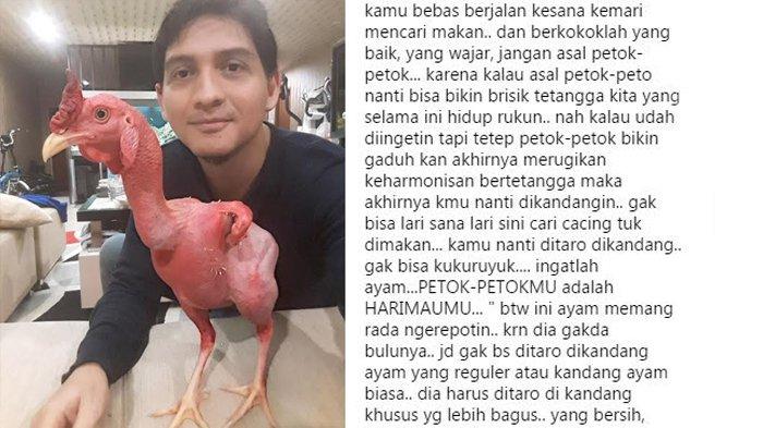"""Lucky Hakim Buat Ahoker Kepanasan Dengan Foto dan Tulisan """"Ayam Jangan Asal Berkokok"""" ini"""