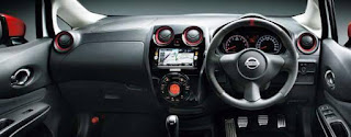 Interior Nissan Note Nismo