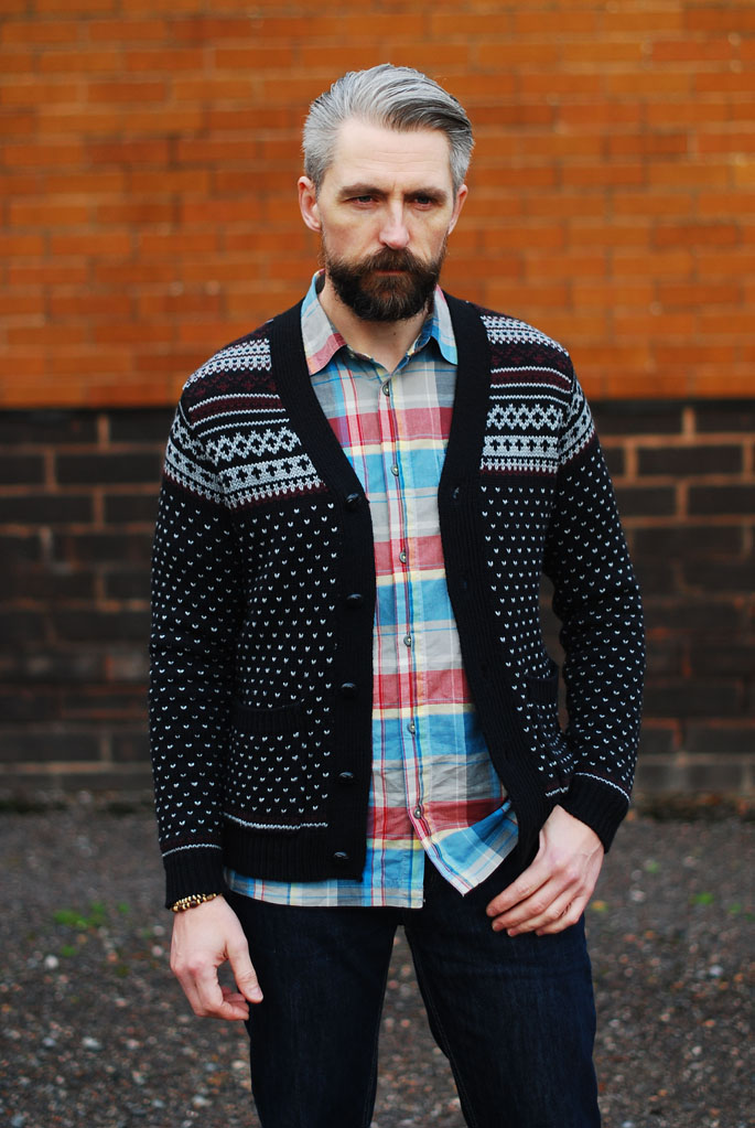How to Wear a Fair Isle Cardigan   Over 40 Smart Casual Menswear ...