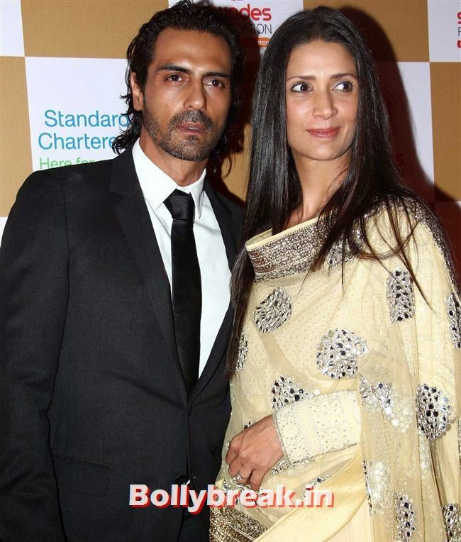 Arjun Rampal and Mehr Jessia, Sonakshi Sinha, Shilpa Shetty at Swades Foundation Fundraiser
