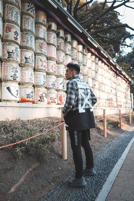 Leo Chan at Meiji Garden Beer Wall Tokyo