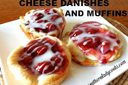 BISCUIT CREAMED CHEESE DANISHES AND MUFFINS