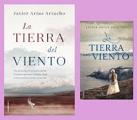 portada de la novela histórica La tierra del viento, de Javier Arias Artacho