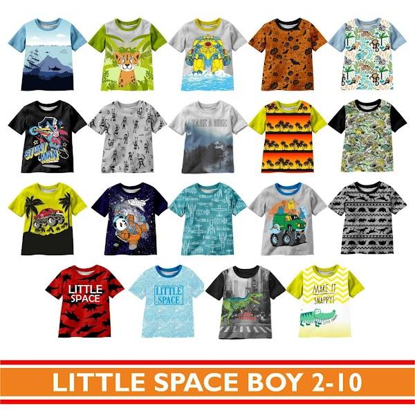 Kaos anak little space boy