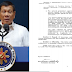 Duterte signed executive order for gov't employees salary increase