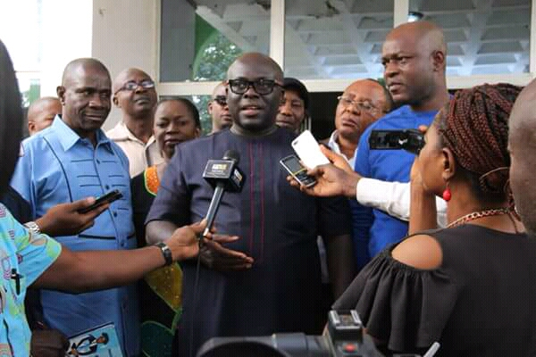 BREAKDOWN OF DRAFT ESTIMATES OF ABIA STATE GOVERNMENT OF NIGERIA  2018 -2020 MULTI-YEAR BUDGET