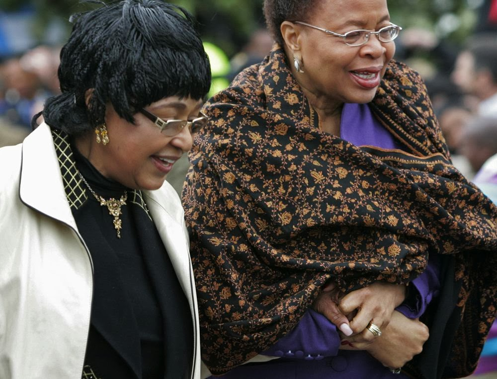 relationship between winnie mandela and graca machel