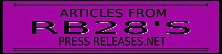 RB28's Articles from Press Releases
