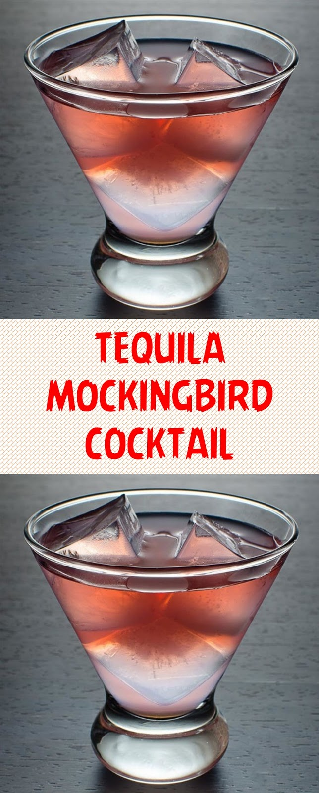 TEQUILA MOCKINGBIRD COCKTAIL