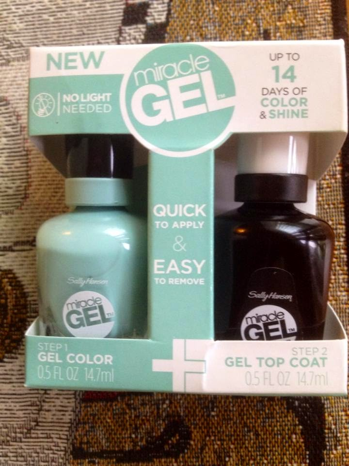 Sally Hansen, gel nails, review, sally hansen