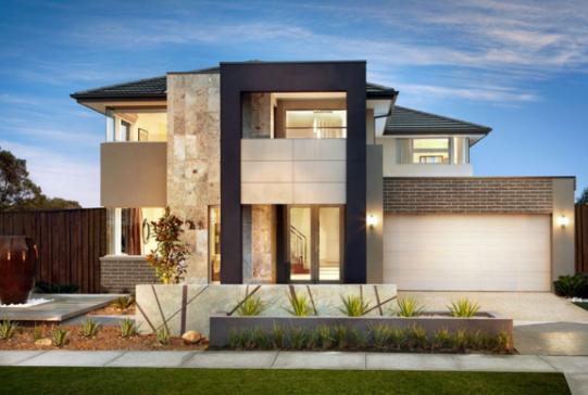 Beautiful two-story luxury minimalist house