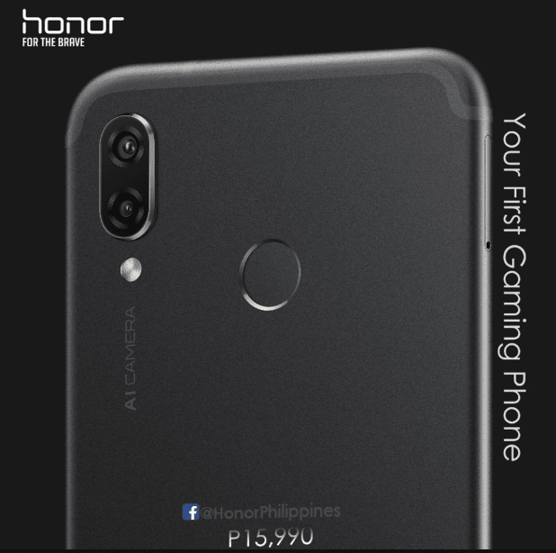 honor play gaming smartphone philippines