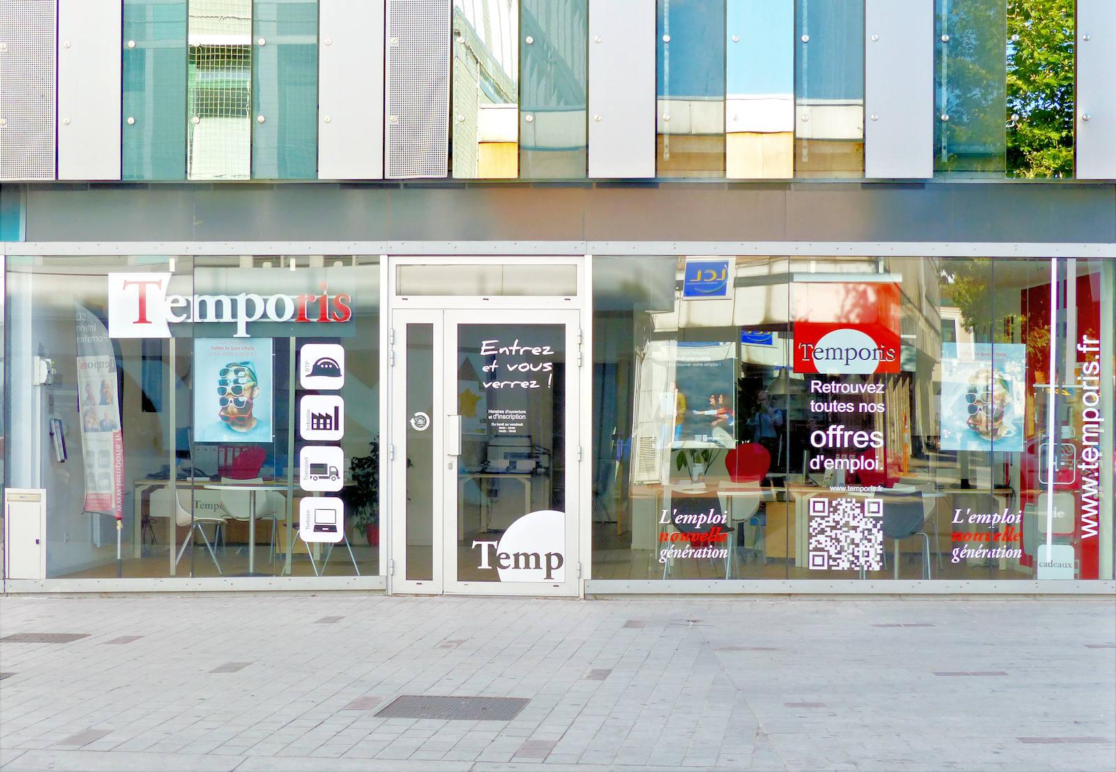 Temporis - Tourcoing centre - Vitrine