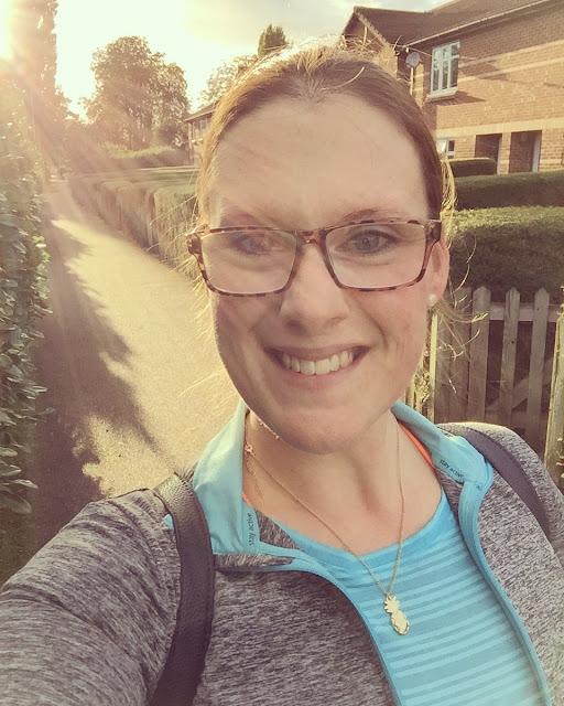 Mrs Bishop post-workout Oct 2016