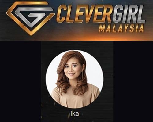Biodata Ika Clever Girl Malaysia 2017, profile Ika, biografi, profil dan latar belakang Ika Clever Girl Malaysia TV3 2017 musim 2, foto, gambar Ika Clever Girl Malaysia musim kedua