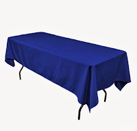 Blue Table Cloth €5