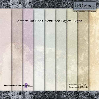 Weekend Sale! 50% off lsdzines Textured Paper Collections