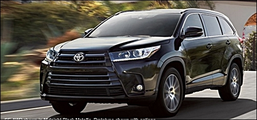 2018 Toyota Highlander Info Specs Changes