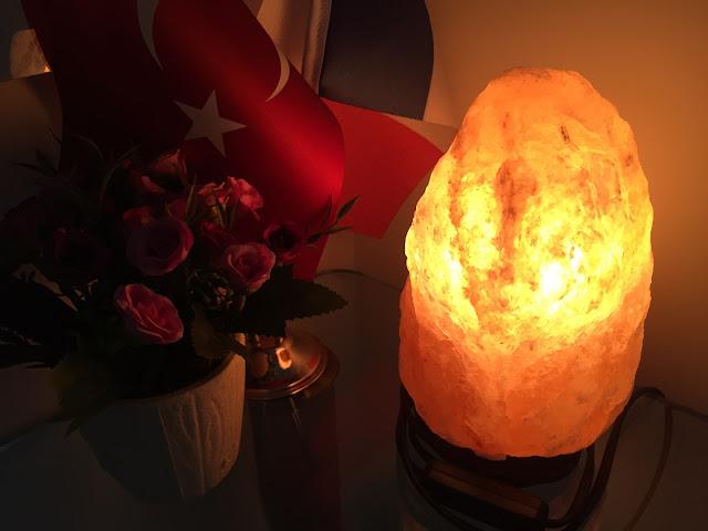 kaya tuzu lambası
