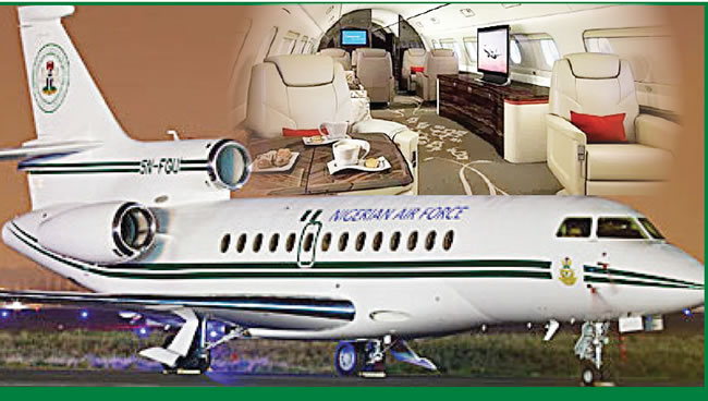 Image result for presidential jets + nigeria